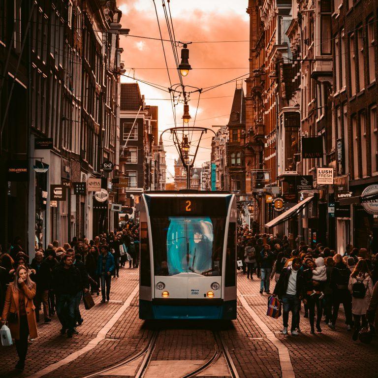Amsterdam perfect voor elektrische bestelauto