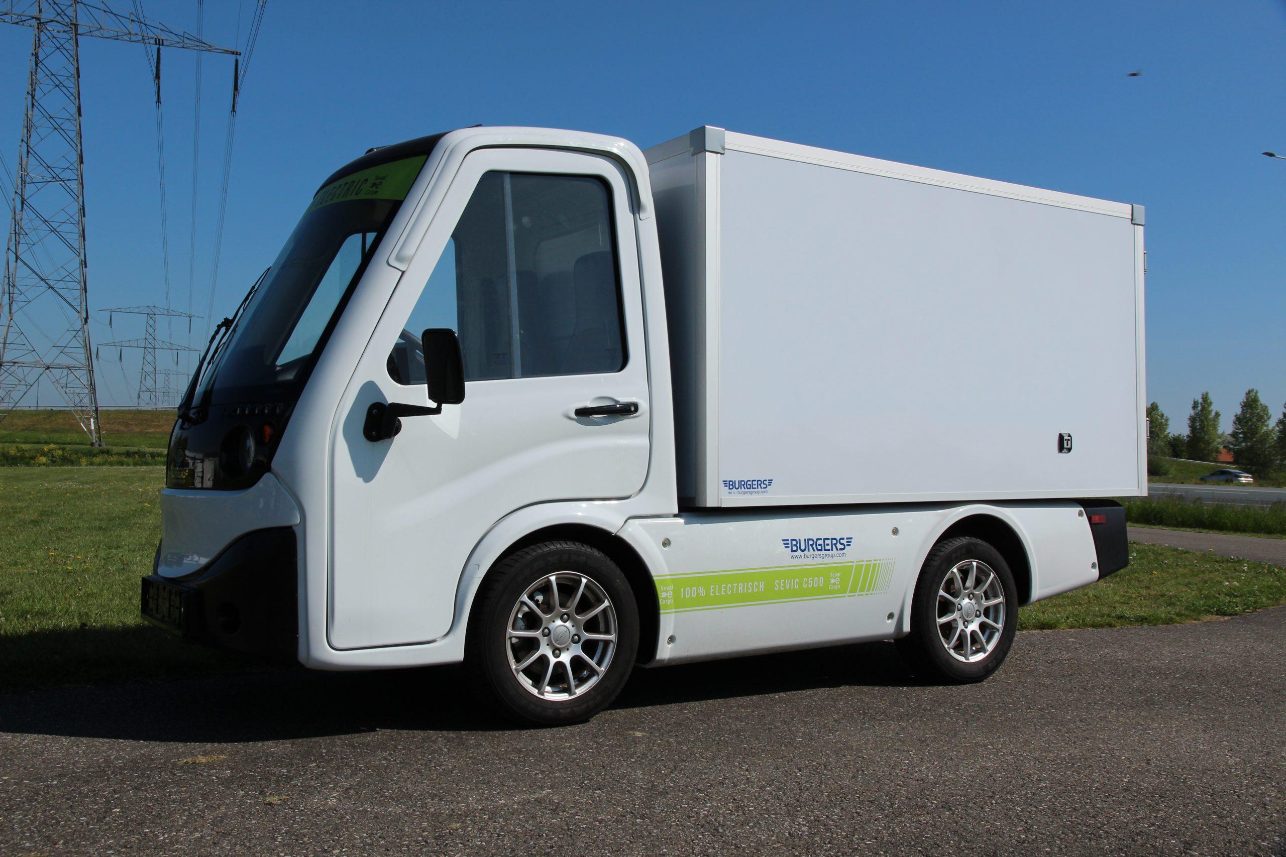 Elektrische Bestelwagen